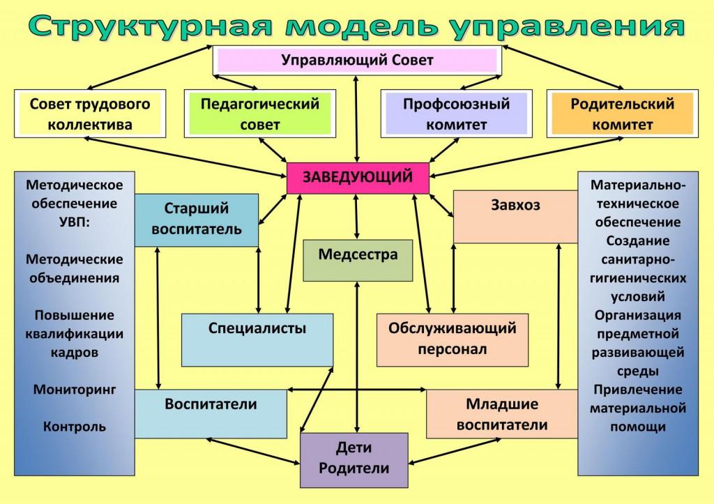 Структура образовательной организации